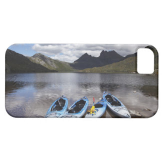 Kayaks, Cradle Mountain and Dove Lake, Cradle iPhone 5 Cover