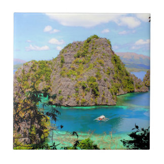 Kayangan Lake Travel Tile