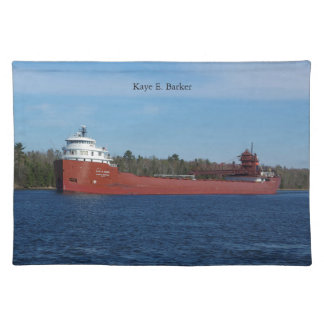 Kaye E. Barker cloth placemat