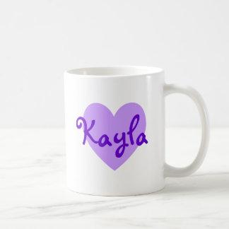 Kayla in Purple Coffee Mug