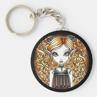 """Kayla"" Steampunk Fairy Close Up Key Chain"
