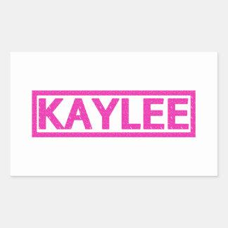 Kaylee Stamp Sticker