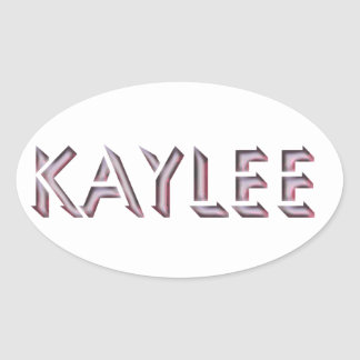Kaylee sticker name