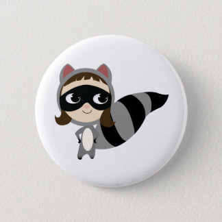 Kaylee The Raccoon! 2 Inch Round Button