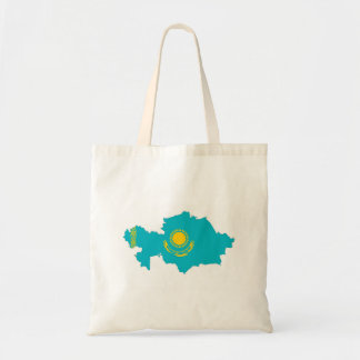 kazakhstan country flag map shape symbol tote bag