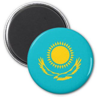 Kazakhstan country long flag nation symbol republi magnet
