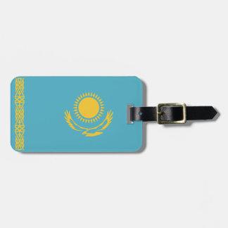 Kazakhstan Flag Bag Tag