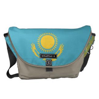 Kazakhstan Flag Courier Bags