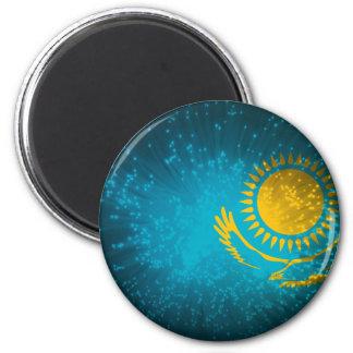 Kazakhstan Flag Firework Magnet
