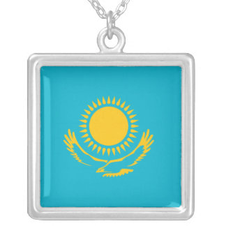Kazakhstan Flag Necklace
