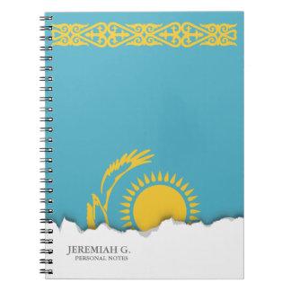 Kazakhstan Flag Notebook