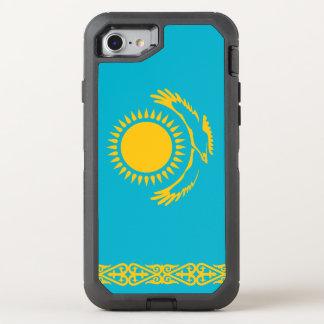 Kazakhstan Flag OtterBox Defender iPhone 8/7 Case