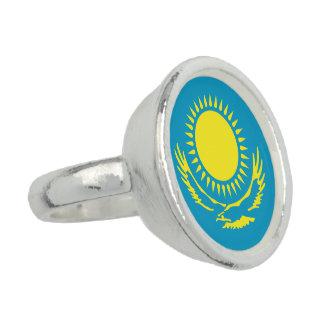 Kazakhstan Flag Photo Ring