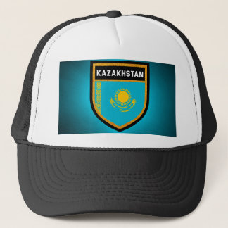 Kazakhstan Flag Trucker Hat