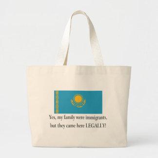 Kazakhstan Jumbo Tote Bag