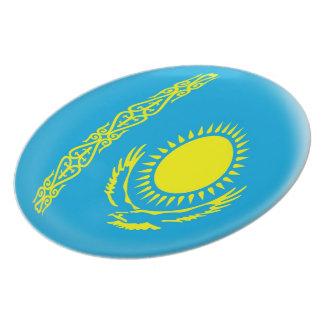 Kazakhstan Kazakhstani Flag Plate