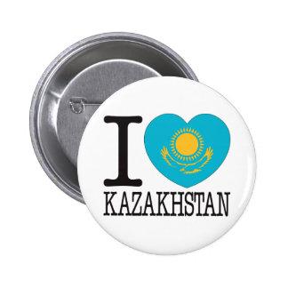Kazakhstan Love v2 2 Inch Round Button