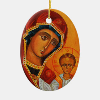 Kazan Mother of God Ornament
