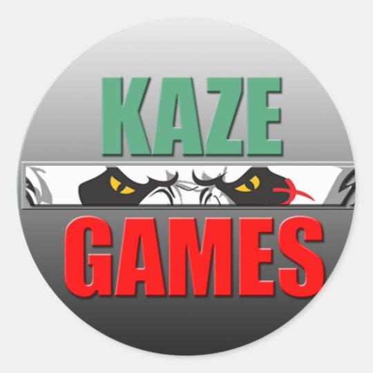 Kaze Games Round Sticker