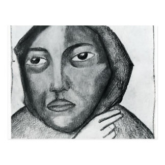 Kazimir Malevich- Praying Woman Postcard