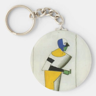 Kazimir Malevich- Sportsman Keychain