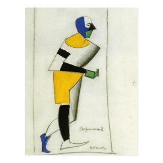 Kazimir Malevich- Sportsman Post Cards
