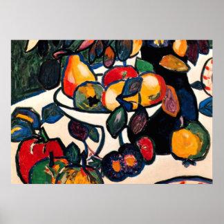 Kazimir Malevich - Still Life, 1911 artwork Poster
