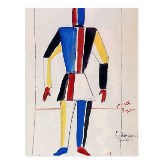 Kazimir Malevich- The Athlete of the Future Postcard