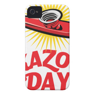 Kazoo Day - Appreciation Day iPhone 4 Case