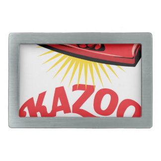 Kazoo Day - Appreciation Day Rectangular Belt Buckles