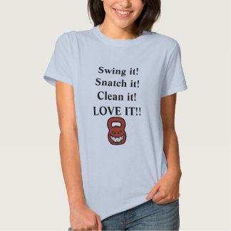 Kbell love t shirt