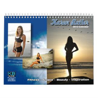 KBFit 2013 Inspirational Calendar (11x17)