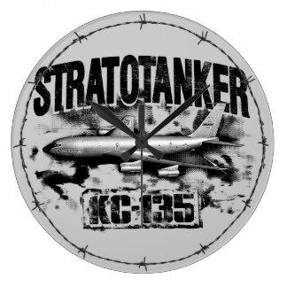 KC-135 Stratotanker Acrylic Wall Clock