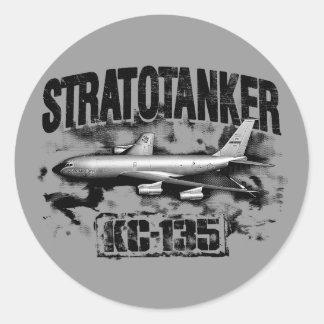 KC-135 Stratotanker Classic Round Sticker Sticker