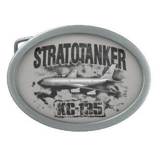 KC-135 Stratotanker Pewter Belt Buckle