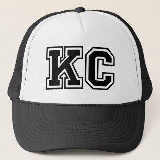 'KC' Monogram Trucker Hat