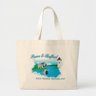 KCA National logo Large Tote Bag