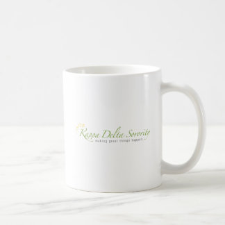 KD Sorority Logo Coffee Mug