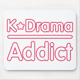 KDrama Addict Mouse Pad