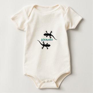 Keanae beach Maui Geckos Baby Bodysuit