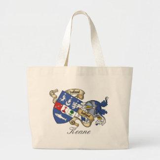 Keane Family Crest Jumbo Tote Bag