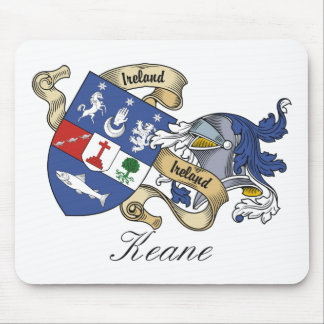 Keane Family Crest Mouse Pad