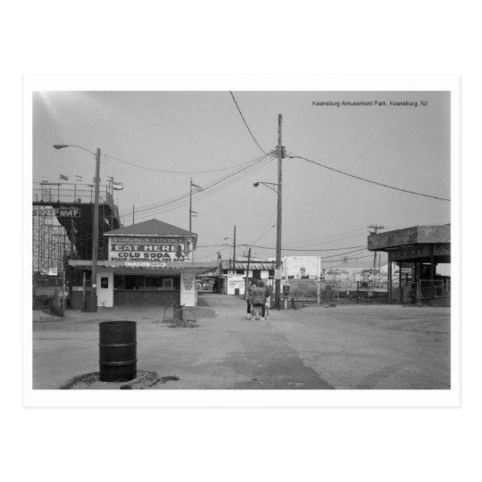 Keansburg Amusement Park, Keansburg, NJ Postcard