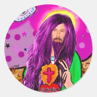 Keanu Jesus Sticker