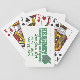 Kearney Playing Cards