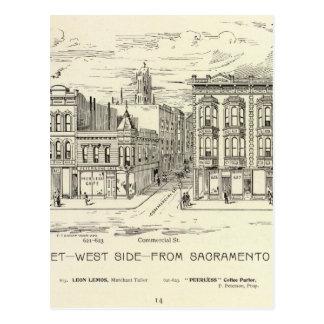 Kearny, Sacramento and Clay West Side Postcard