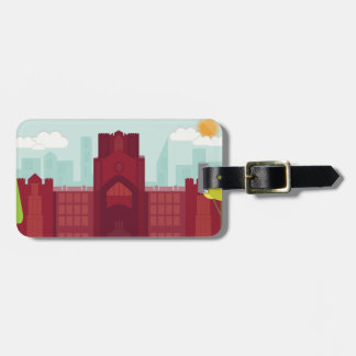 Keating Hall Luggage Tag