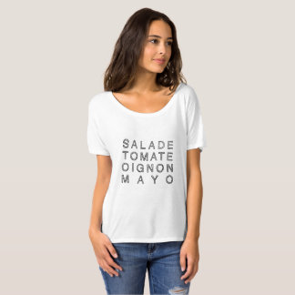 KEBAB MAYO in black (flowy) T-Shirt