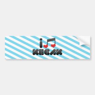 Kecak Bumper Sticker
