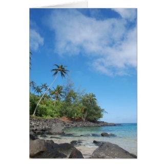 Ke'e Beach, Kaua'i Card